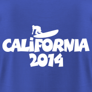 2014 california surfing t-shirts