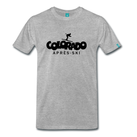 Colorado apres ski winter sports t-shirts