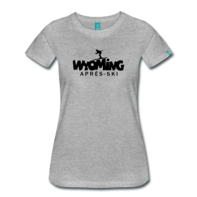 Wyoming winter sports apres ski t-shirts