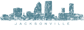 jacksonville skyline t-shirt design