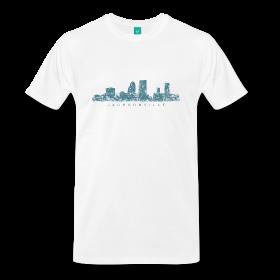 jacksonville t-shirts skyline
