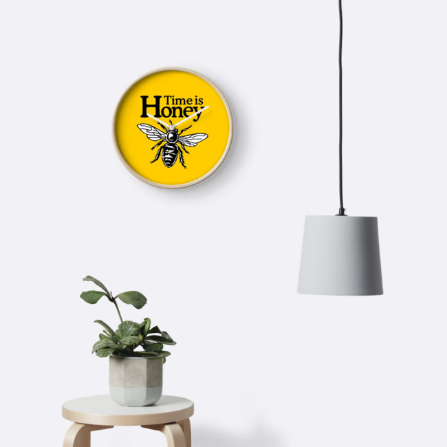 TIME IS HONEY: THE BEEKEEPER'S WALL CLOCK