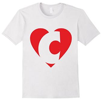 I love C - Heart C T-Shirts