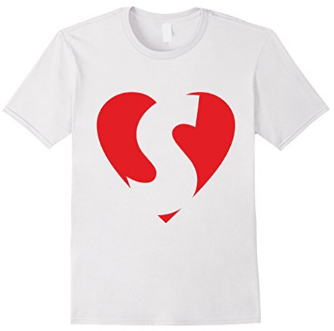 I love S - Heart with Letter S T-Shirts
