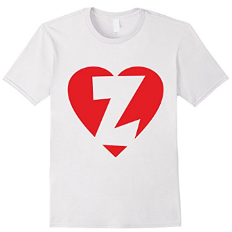 I love Z - Heart with Letter Z T-Shirts