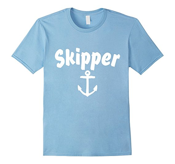 Skipper Sailing Anchor T-Shirts