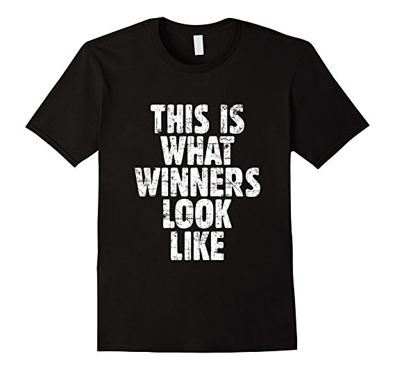 This is what winners look like t-shirts vintage white