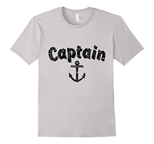 Captain Anchor Sailing T-Shirts