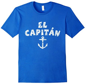 el capitan anchor t-shirts vintage white