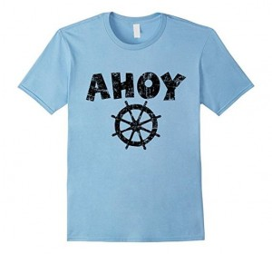 Ahoy Wheel T-Shirts Black