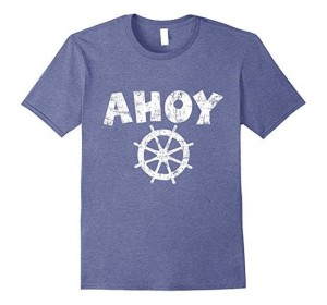 Ahoy Wheel T-Shirts White