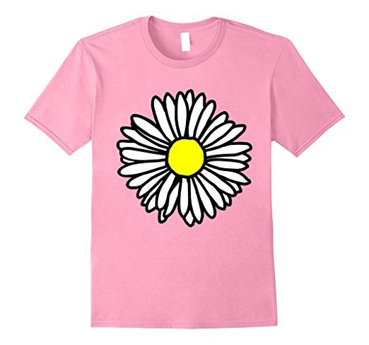 Daisy T-Shirts Outline