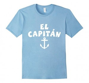 El Capitan T-Shirts Anchor White
