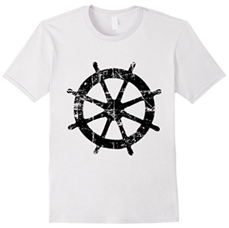 Steering Wheel Sailing T-Shirts