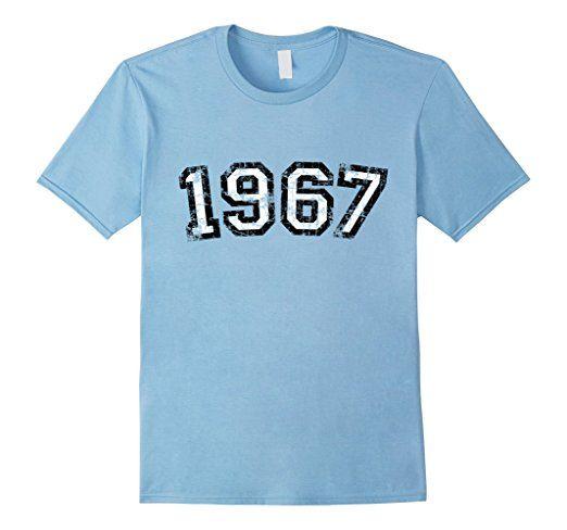 Vintage 1967 Birthday t-shirts