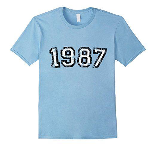 Vintage 1987 Birthday t-shirts