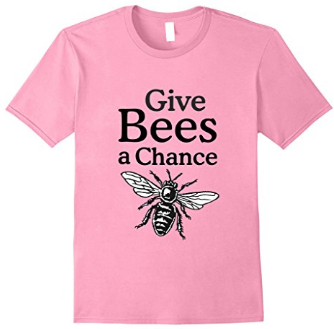 Give bees a chance beekeeper t-shirts