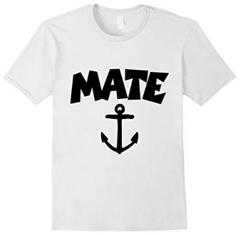 Mate Anchor Sailing T-Shirts