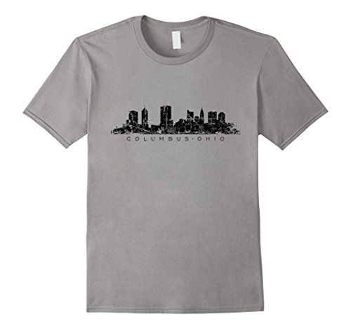 Columbus Ohio Skyline T-Shirts