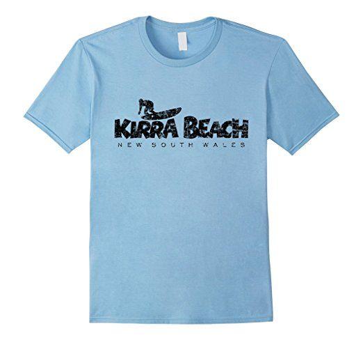 Kirra Beach Surf T-Shirts Black