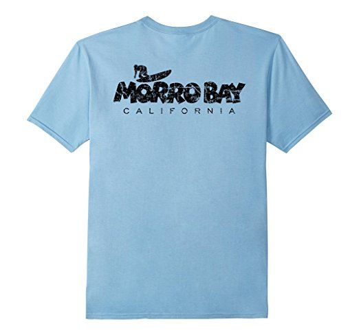 Morro Bay California surf t-shirts black