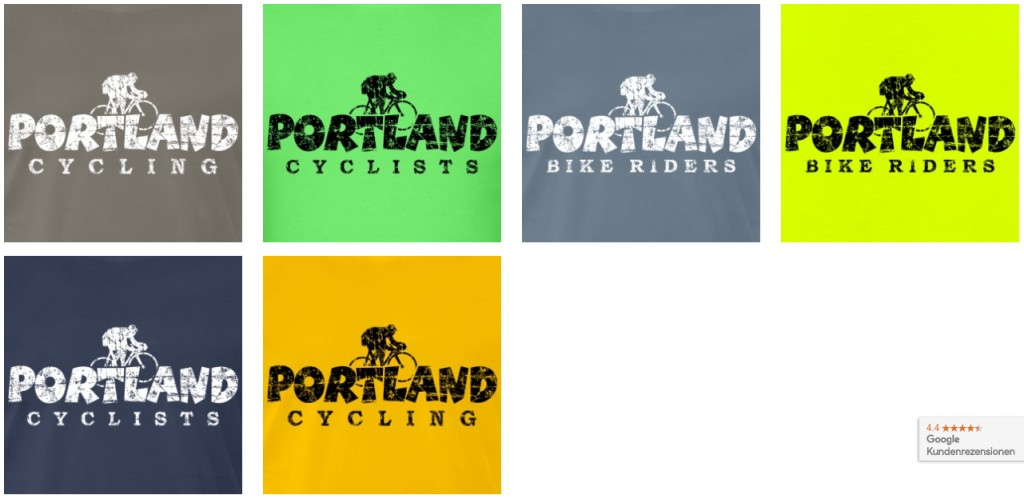 Portland Cycling T-Shirts Shop