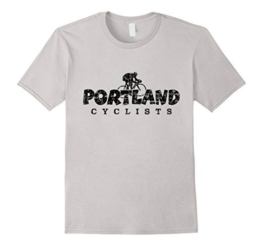Portland Cyclists T-Shirts Black