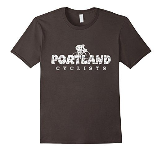 Portland Cyclists T-Shirts White