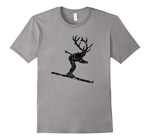 Ski Stag T-Shirts Skier