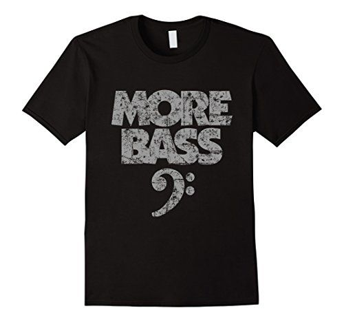 More Bass T-Shirts Gray