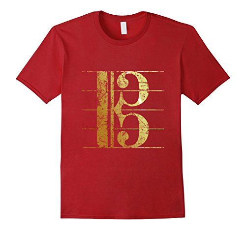 Alto Clef Ancient Gold T-Shirts