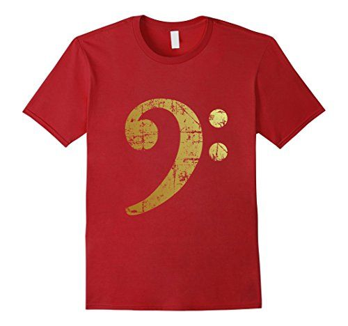 Bass Clef Gold T-Shirts