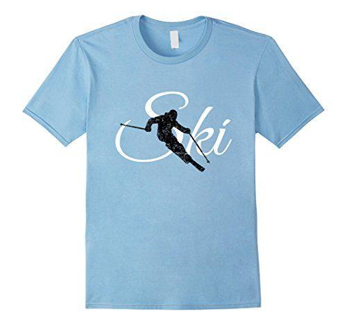 Ski Skier Skiing T-Shirts