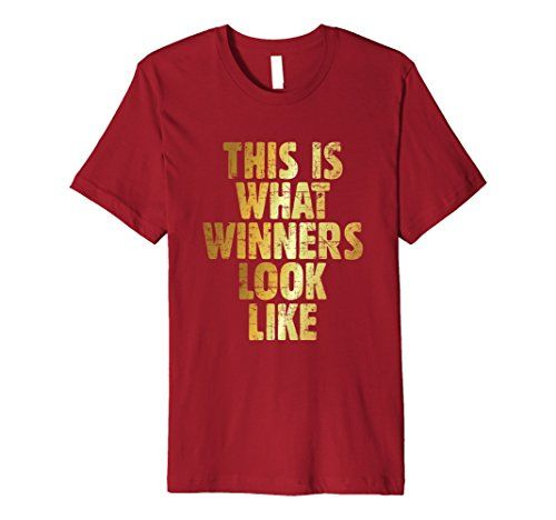 This is what winners look like t-shirts ancient gold premium