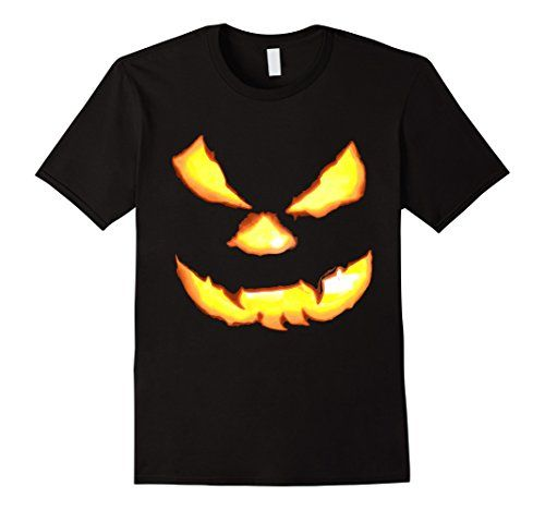 Halloween T-Shirts with Pumpkin Faces