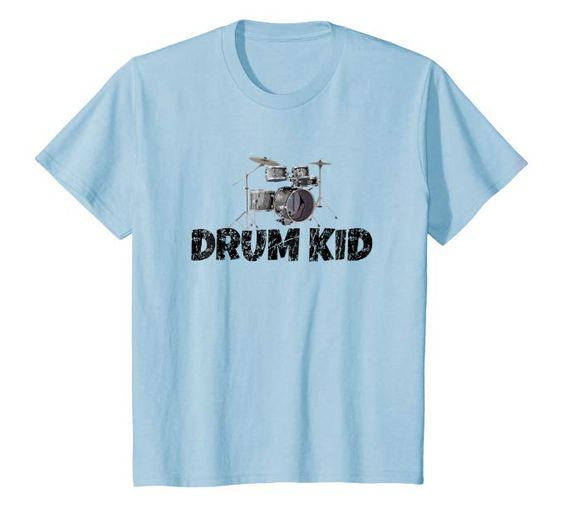 Drum Kid Kids T-Shirt