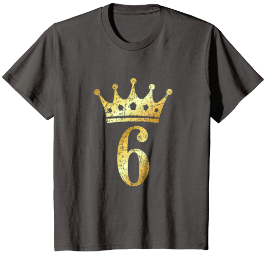 6th Birthday T-Shirts & Gifts