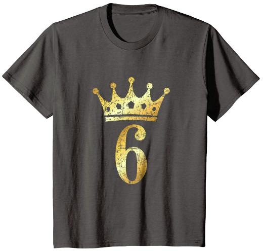 6th Birthday T-Shirts & Gifts